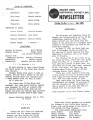 Brown Deer Historical Society Newsletter, May 1981