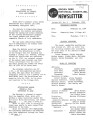 Brown Deer Historical Society Newsletter, February 1984