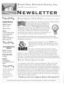 Brown Deer Historical Society Newsletter, July 2010