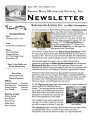 Brown Deer Historical Society Newsletter, April 2015