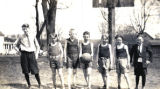 Sixth grade basketball team, Platteville, 1924