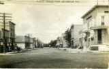 Main St. looking west, Hortonville, Wis.