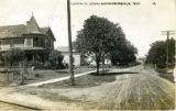 Oshkosh St. looking north, Hortonville, Wis.
