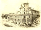 Cicero Comstock Residence drawing