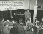 FM radio demonstration at the Wisconsin Hobby Exposition