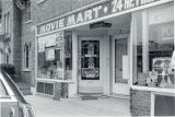 Storefront of Movie Mart