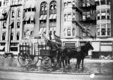 St. Charles Hotel Horse and Cart