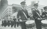 Band marches in Memorial Day parade
