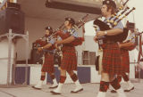 Bagpipe players at Summerfest