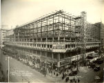 Plankinton Arcade View of Construction December 1, 1924