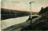 064 View of Fox River, Kaukauna, Wis.