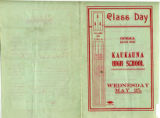 Class day, Kaukauna High School (Kaukauna, Wis.) 1904