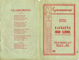 Commencement, Kaukauna High School (Kaukauna, Wis.) 1904