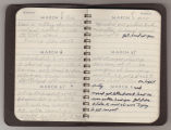 Soldier's World War II diary entries, 1943