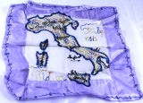 Souvenir scarf from Italy, 1940-1945