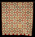 Handmade pieced quilt, 1850-1875