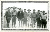 Supervisors of the forestry crew, CCC Camp 657, Elcho, 1933-1937