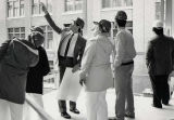 MATC Administration and staff touring renovations of new S-building area of Downtown Campus 1980s