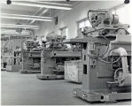 Large motors in shop area