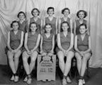 1935-1936 women's junior volleyball tournament team