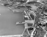 Aerial view of Maitland Field and Municipal Harbor