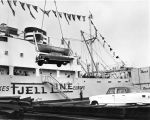 Nash, Rambler autos loaded on Fjell Line vessel