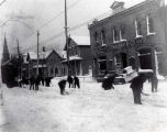 Remember When...streetcars needed shoveling out?