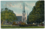 A. 48. Congregational Church and East Building, Ripon College, Ripon, Wis.