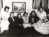 Woman's Club in period costumes