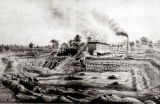 Sketch of Milwaukee Cement Mill