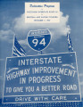 Highway Dedication Programs - Interstate 94 - Racine and Kenosha Counties - December 3, 1959