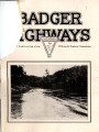 Badger Highways - Vol. 01, no. 09, September 1925