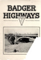 Badger Highways - Vol. 01, no. 01, January 1925