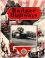 Badger Highways - Vol. 05, no. 01, January 1929