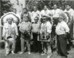 Chief Sam Frog, Johnson Awohnopay, Wayne Martin and others, Keshena