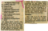15-Minute Meat Loaf