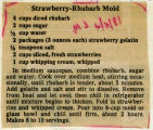Strawberry-Rhubarb Mold