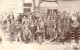 4th Wisconsin Infantry with members of Buffalo Bill's Wild West show