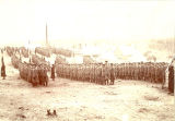 4th Wisconsin Infantry on parade at Camp Shipp