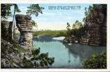 Chimney Rock and Romance Cliff, Dells of the Wisconsin River - 22