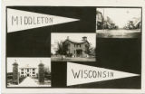 Postcard collage of Middleton
