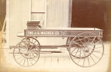 J. G. Wagner iron works delivery wagon