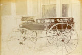 A. J. Baum wagon for meat market business