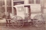 G.R. Carow Bottled Milk & Cream Wagon