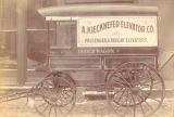 A. Kieckhefer Elevator Co. order wagon