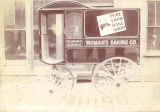 Woman's Baking Co. baking company delivery wagon
