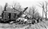 Rocks to Roads 09: Steam shovel at work