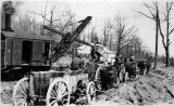 Rocks to Roads 10: Steam shovel at work