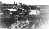 Cornfalfa Farms; Alfalfa Production 190: Alfalfa seed harvesting with combine