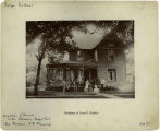 Carroll Street, East - Number 118 - Residence of Louis F. Schulze